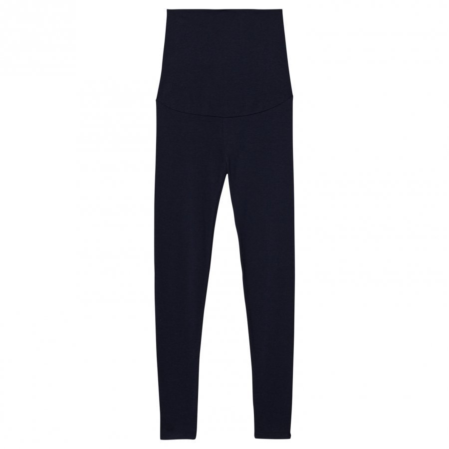 Mom2mom Maternity Leggings Navy Leggingsit Äidille
