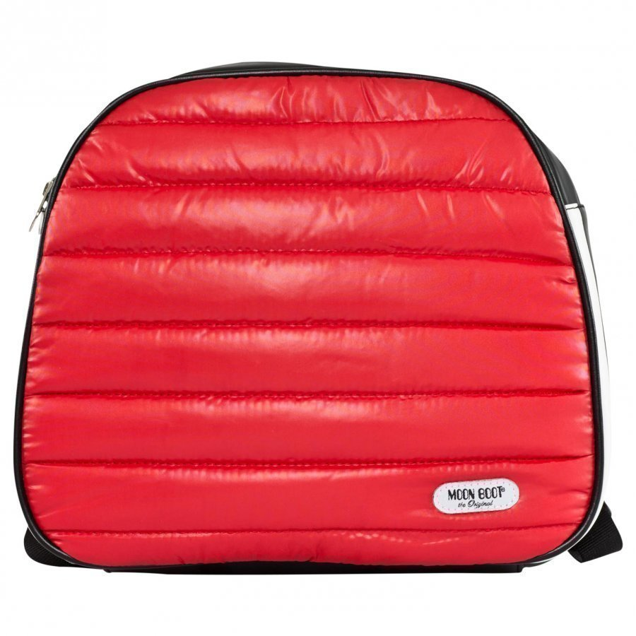 Moon Boot Back Pack Jr Red Reppu