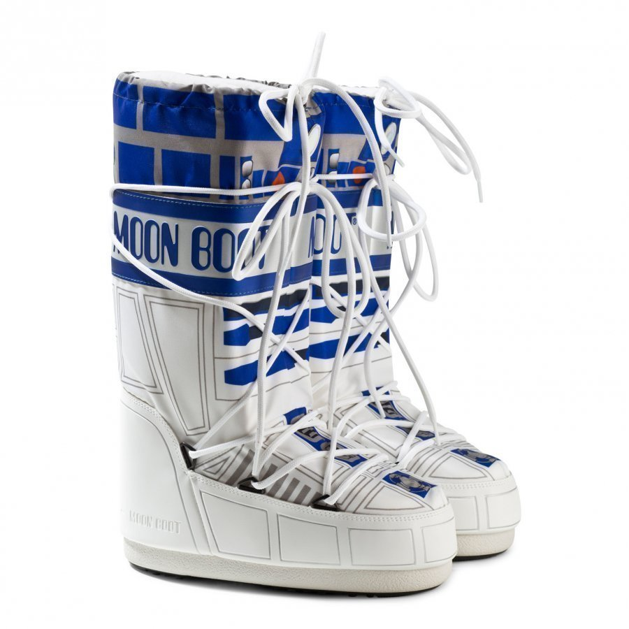 Moon Boot White Star Wars R2-D2 Moon Boots Talvisaappaat