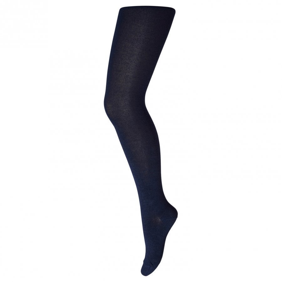 Mp Bamboo Tights Plain Blue Sukkahousut