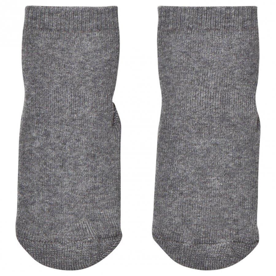 Mp Terry Slipper Socks Mid Grey Sukat