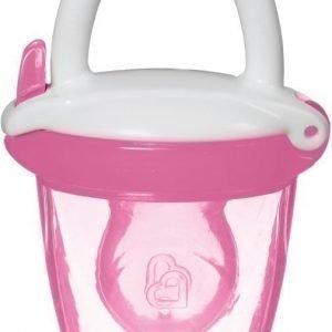 Munchkin Baby Food Feeder Silikoni Vaaleanpunainen