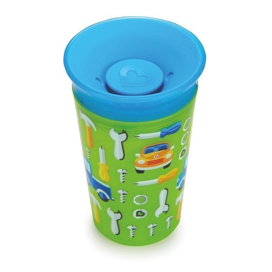 Munchkin Miracle 360° Cup Juomamuki 266 Ml Boy Sininen / Vihreä