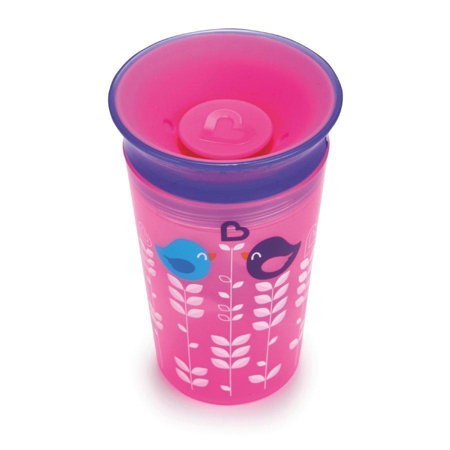 Munchkin Miracle 360° Cup Juomamuki 266 Ml Girl Pinkki / Liila