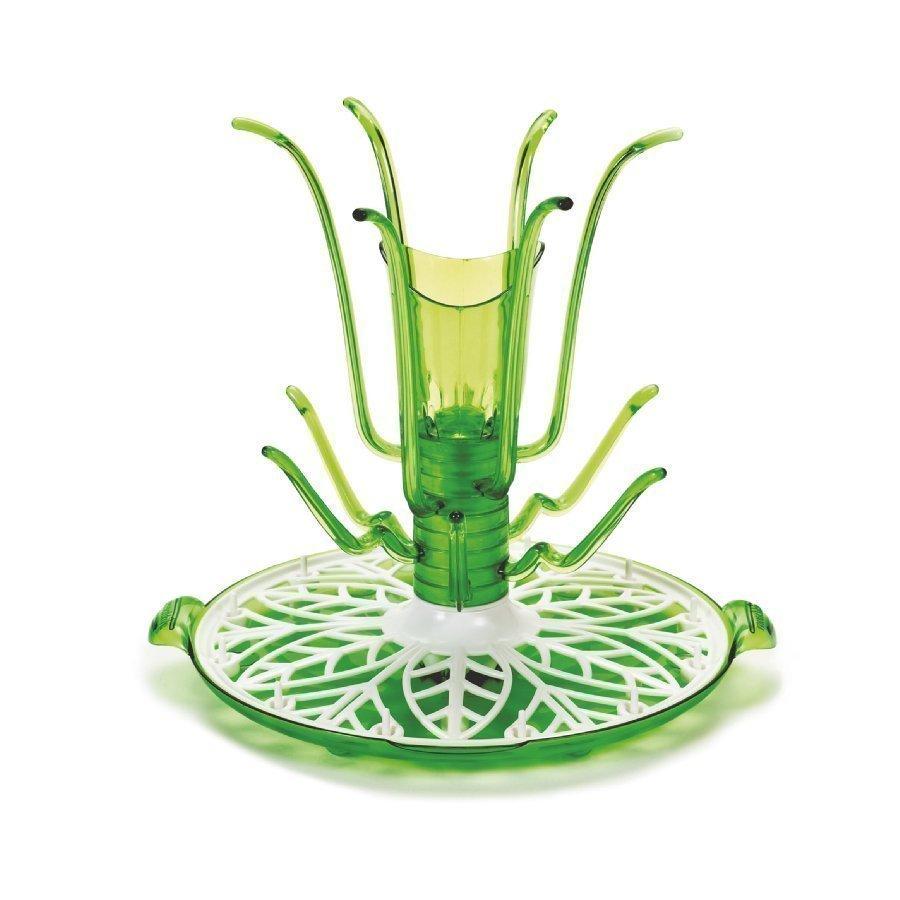 Munchkin Sprout Kuivausteline Pulloille Ja Lisätarvikkeille Vihreä