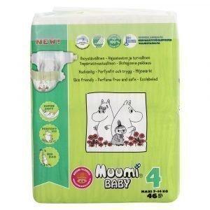 Muumi Baby Maxi 4 7-14 Kg Teippivaippa 46 Kpl