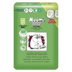Muumi Baby Maxi+ 5 7-15 Kg Housuvaippa 40 Kpl