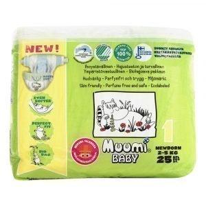 Muumi Baby New Born1 2-5 Kg Teippivaippa 25 Kpl