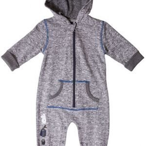 Muumi Jumpsuit Grey Melange/Blue