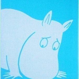 Muumi Kylpypyyhe Muumipeikko 70 x 140 cm Sininen/oranssi