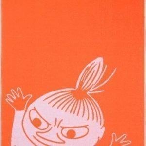 Muumi Kylpypyyhe Pikku Myy 70 x 140 cm Oranssi/sininen