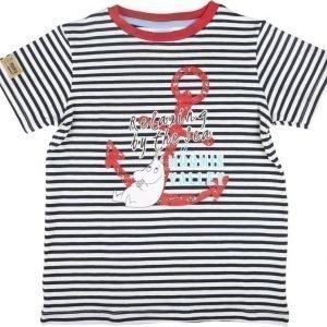 Muumi T-paita Anchor Sininen/Valkoinen