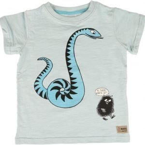 Muumi T-paita Snake Sininen