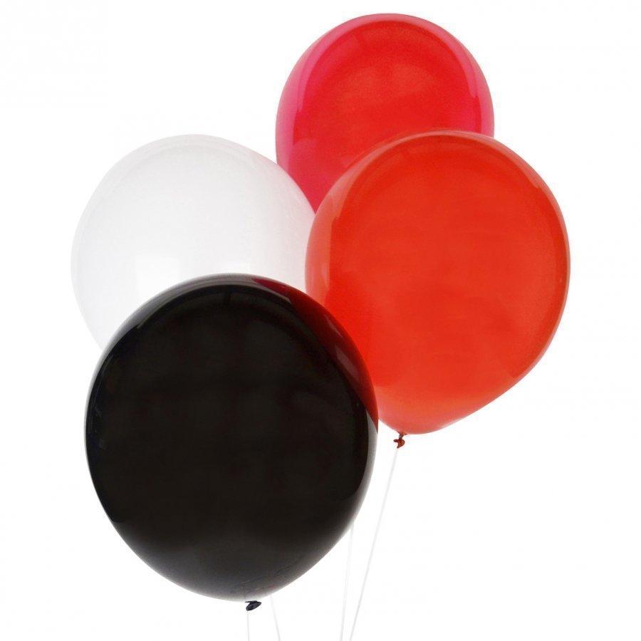 My Little Day 10 Balloons Mix Red Juhlatarvike
