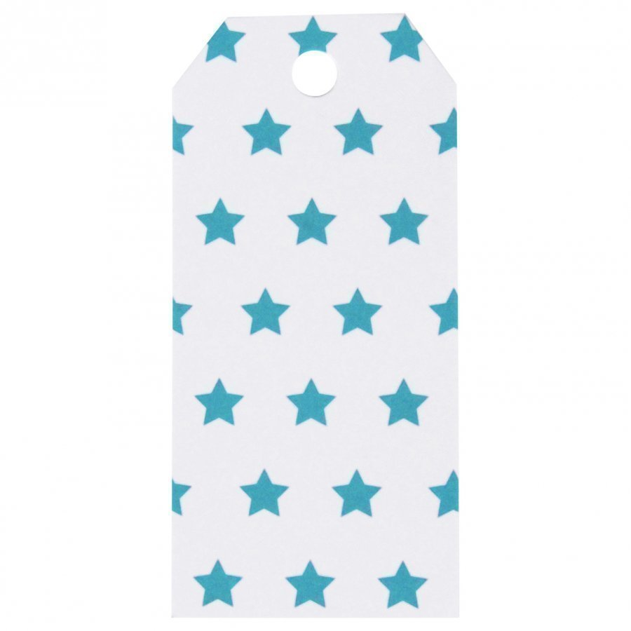 My Little Day 12 Gift Tags Blue Stars Juhlatarvike