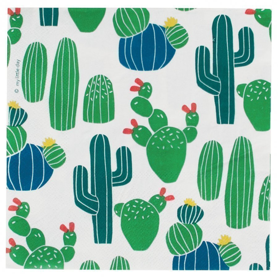 My Little Day 20 Paper Napkins Cactus Juhlatarvike