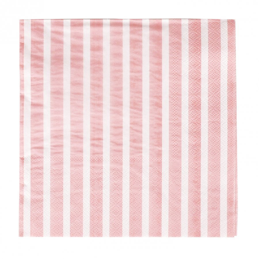 My Little Day 20 Paper Napkins Light Pink Stripes Juhlatarvike