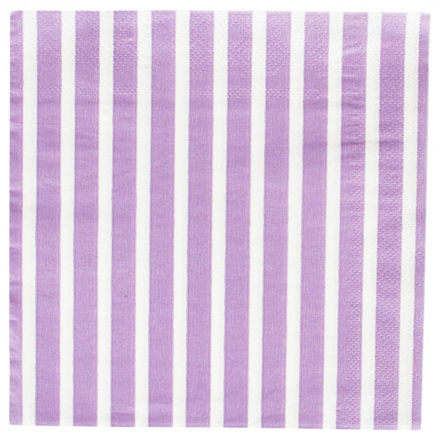 My Little Day 20 Paper Napkins Lilac Stripes Juhlatarvike