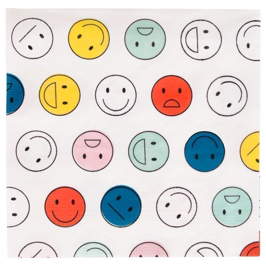My Little Day 20 Paper Napkins Smiley Juhlatarvike