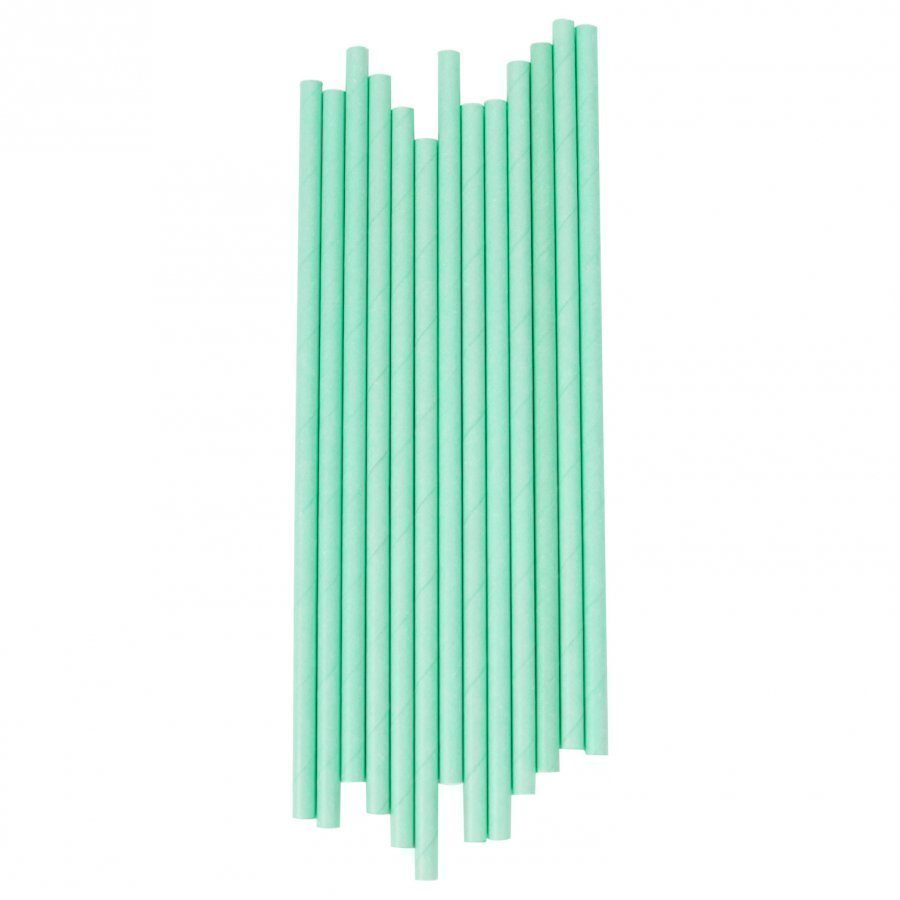 My Little Day 25 Paper Straws Aqua Juhlatarvike
