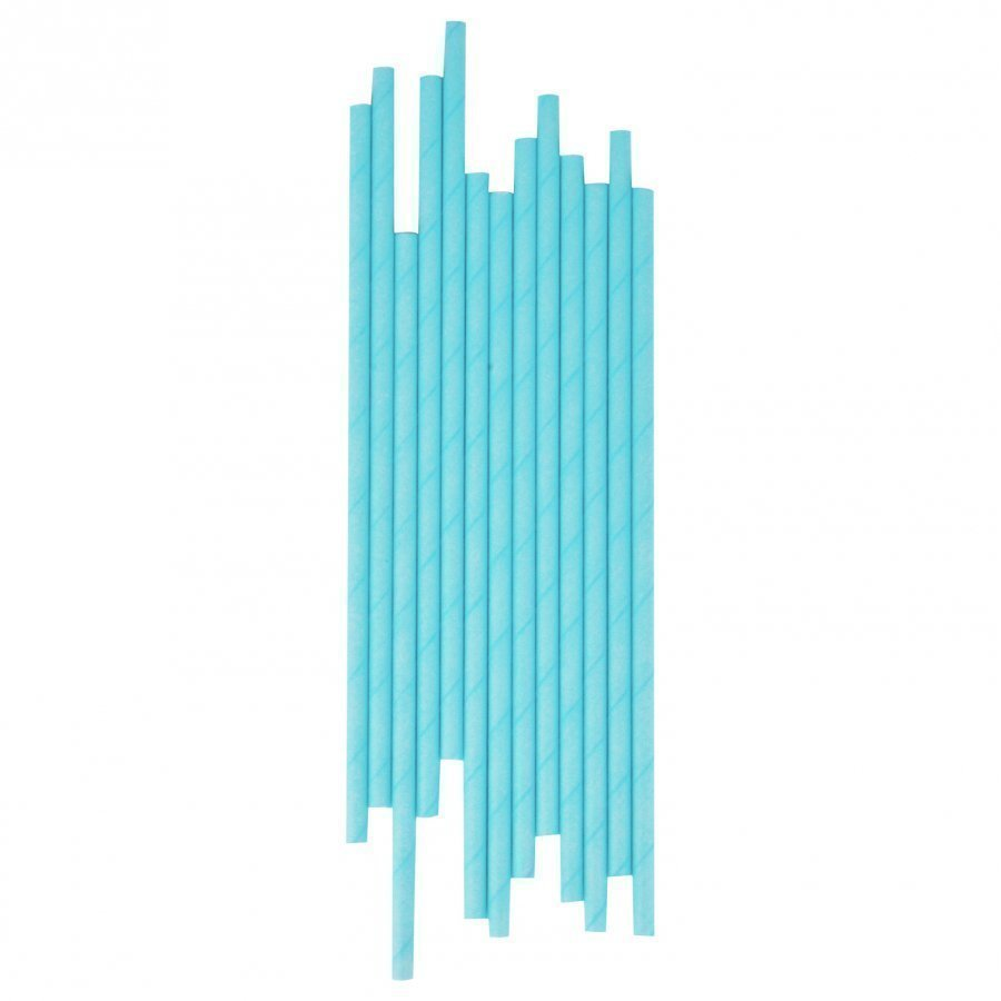My Little Day 25 Paper Straws Light Blue Juhlatarvike
