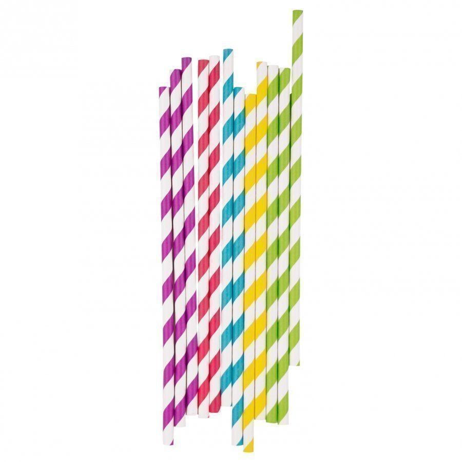 My Little Day 25 Paper Straws Multicolor Mix Juhlatarvike