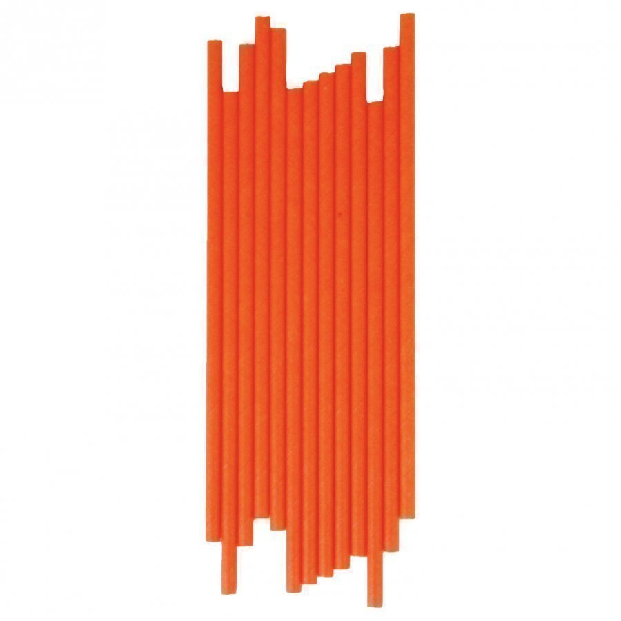 My Little Day 25 Paper Straws Orange Juhlatarvike