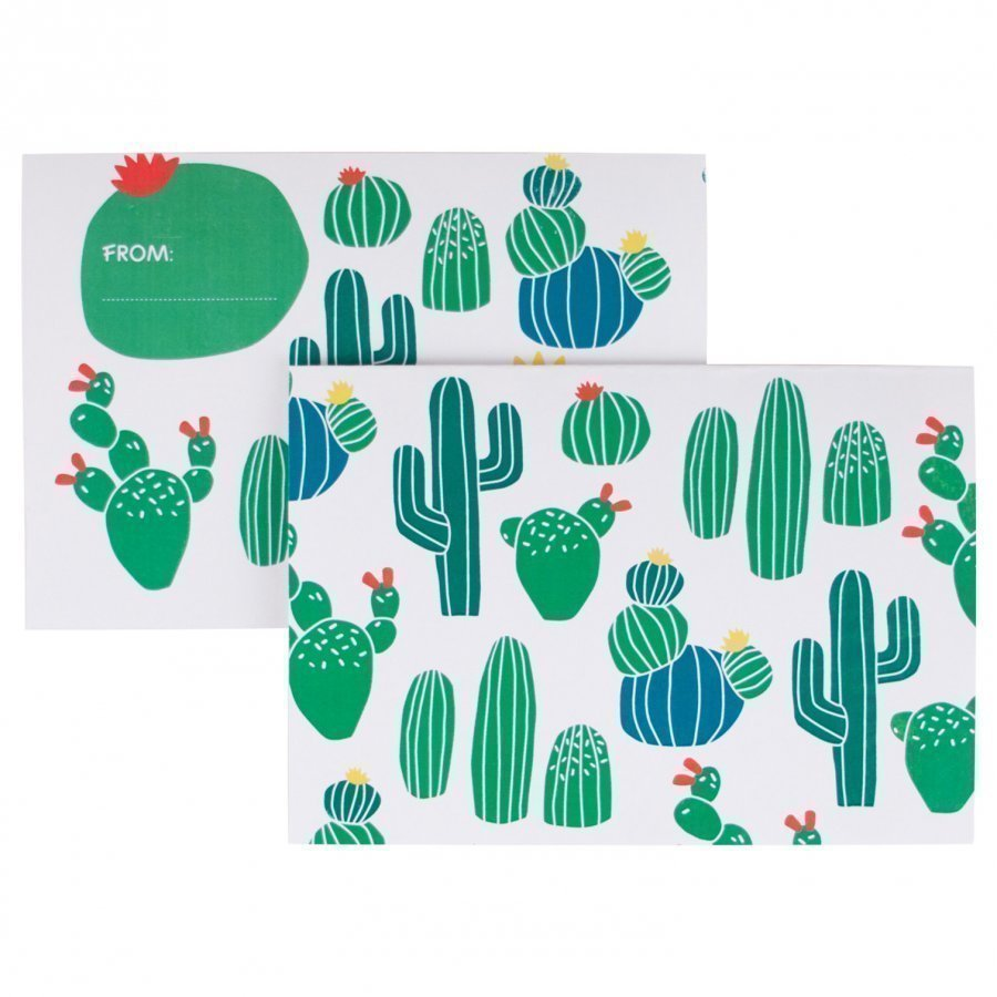 My Little Day 8 Invitations Cactus Juhlatarvike