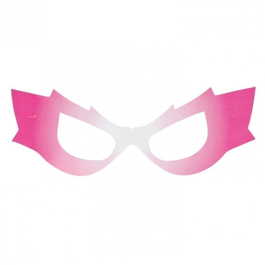 My Little Day 8 Masks Pink Superheroine Juhlatarvike