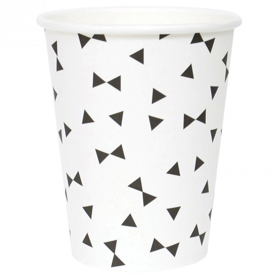 My Little Day 8 Paper Cups Black Tie Juhlatarvike