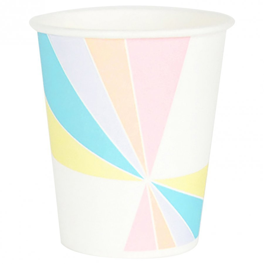 My Little Day 8 Paper Cups Pastel Juhlatarvike
