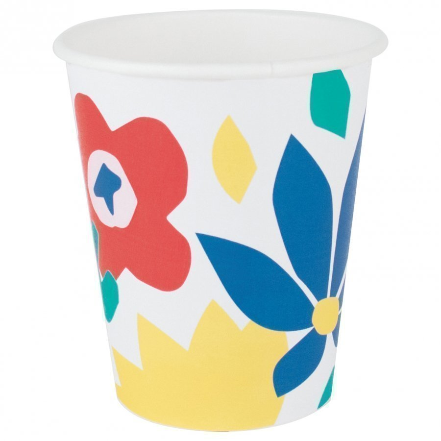 My Little Day 8 Paper Cups Tropical Flowers Juhlatarvike
