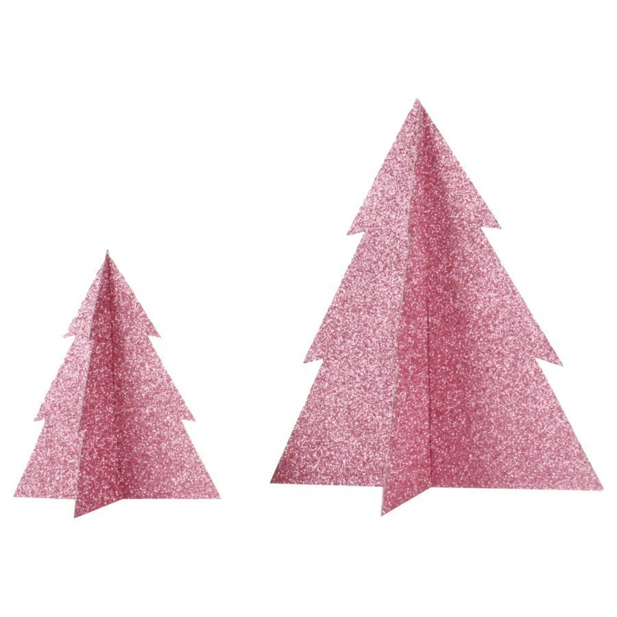 My Little Day Glitter Christmas Tree Pink Large Juhlatarvike