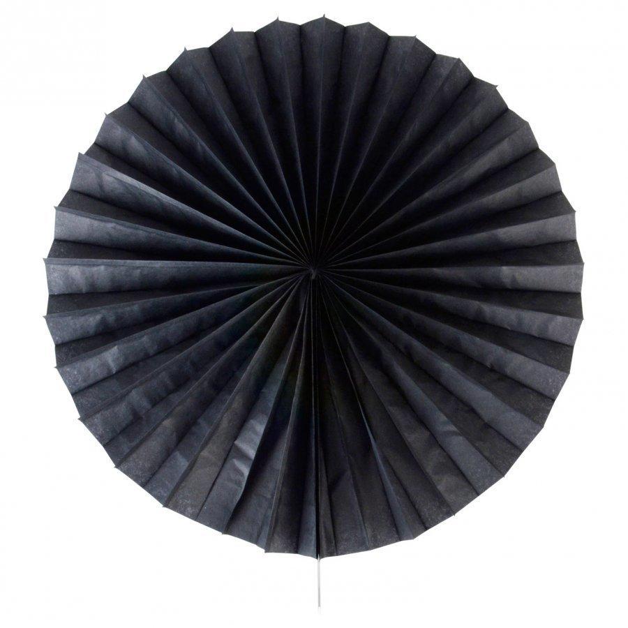 My Little Day Paper Fan Black Juhlatarvike