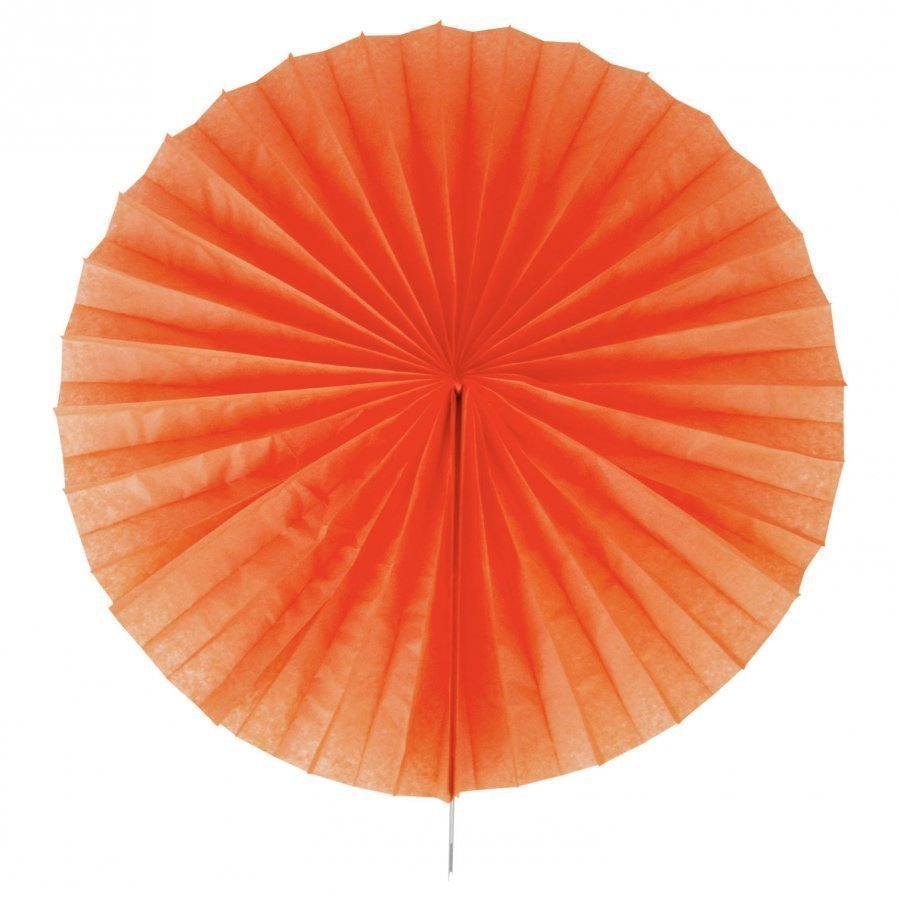 My Little Day Paper Fan Orange Juhlatarvike