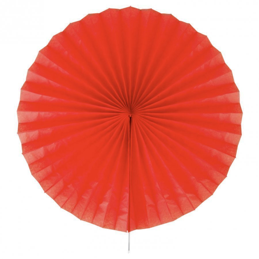My Little Day Paper Fan Red Juhlatarvike