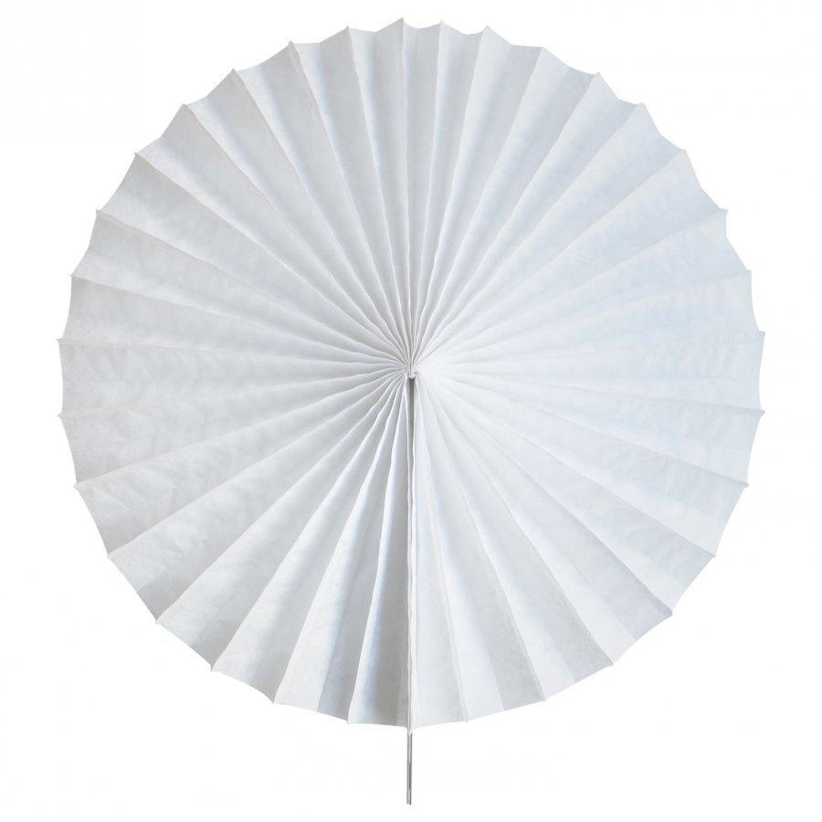 My Little Day Paper Fan White Juhlatarvike