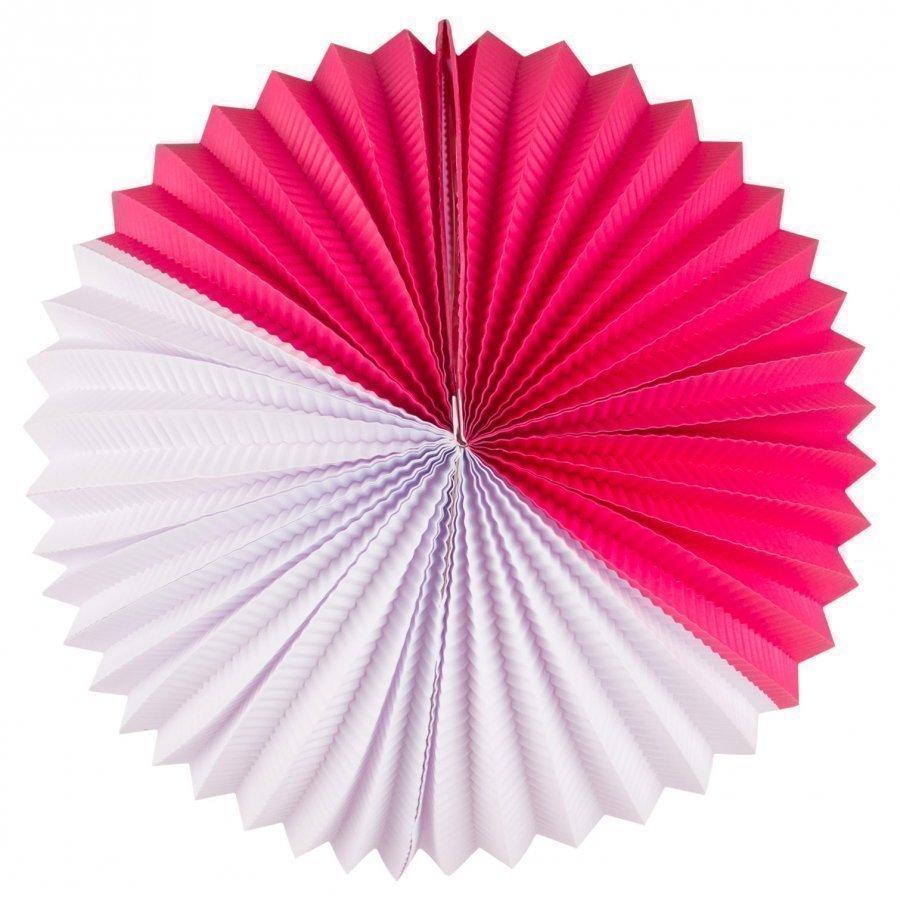 My Little Day Paper Lantern Bright Pink & White Juhlatarvike