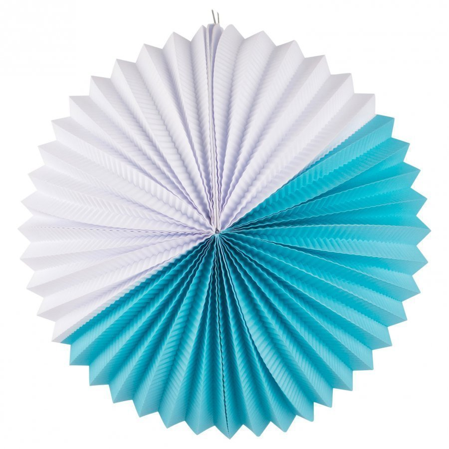My Little Day Paper Lantern Turquoise & White Juhlatarvike
