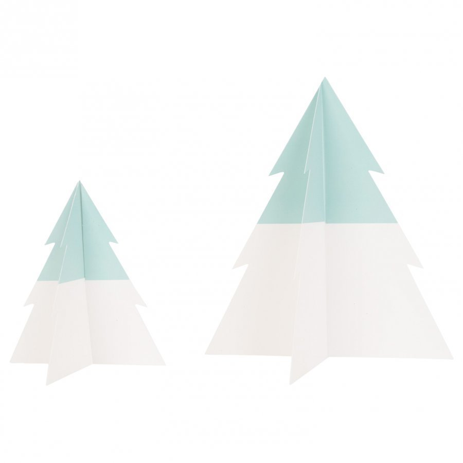 My Little Day Two-Colored Christmas Tree Aqua Large Juhlatarvike