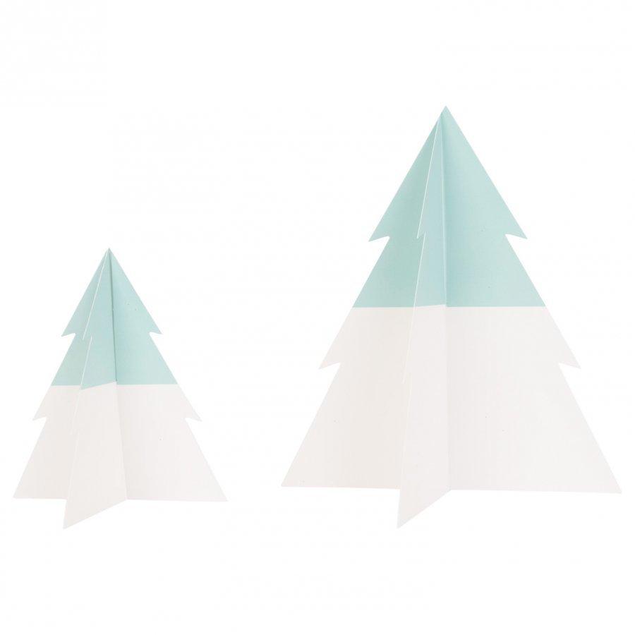 My Little Day Two-Colored Christmas Tree Aqua Small Juhlatarvike
