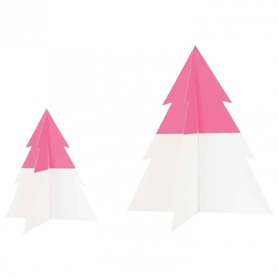 My Little Day Two-Colored Christmas Tree Bright Pink Small Juhlatarvike