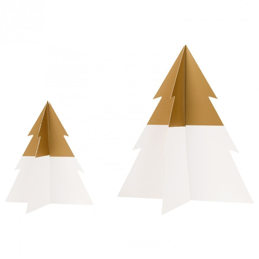 My Little Day Two-Colored Christmas Tree Golden Small Juhlatarvike