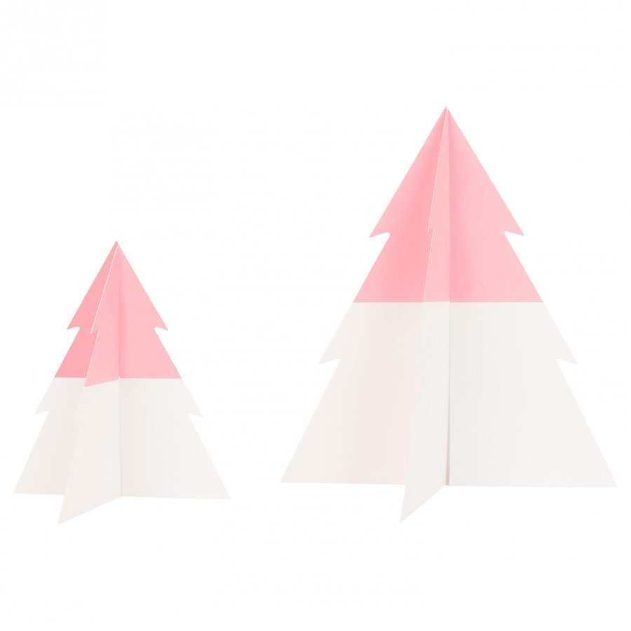 My Little Day Two-Colored Christmas Tree Light Pink Small Juhlatarvike