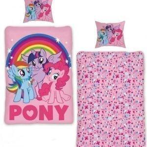 My Little Pony Pussilakanasetti 150 x 210 cm Vaaleanpunainen