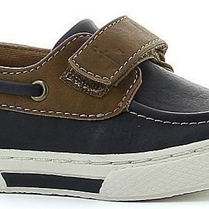 NEW8TEEN Seglarskor Navy/Brown