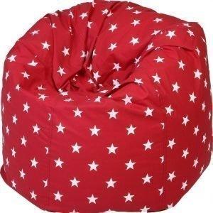NG Baby Big Star Säkkituoli Punainen