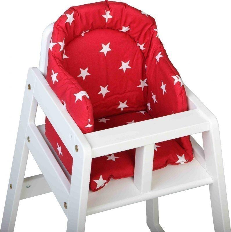 NG Baby Big Star Syöttötuolin pehmuste Punainen