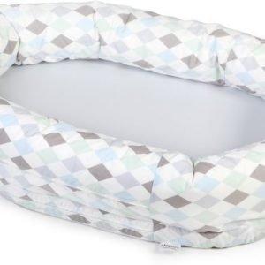 NG Baby Harlequin Unipesä Harmaa/Sininen