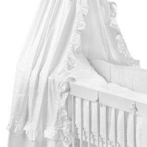 NG Baby Vuodekatos Röyhelö Valkoinen
